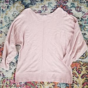 Marled by Reunited Clothing 3/4 Balloon Sleeve Top